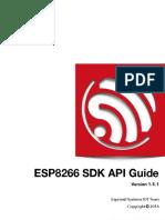 2C-ESP8266 SDK Programming Guide en v1.5.1