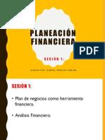 Planeación Financiera Sesión 1