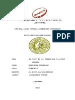 El Peru y El Tlc-gloria