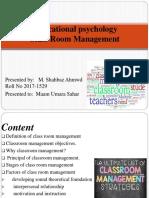 Educational Psychocology