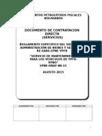 DCD  SERVICOS DE MANTENIMIENTO vehiculos VPNO.doc