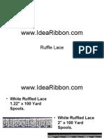 Ruffle Lace