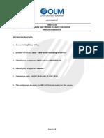 HMEC5333 Assignment Question