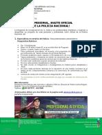 Boletín de Prensa Profesional a Oficial 2018 II Semestre
