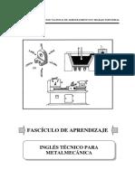 89000417 Ingles Tecnico Para Metalmecanica