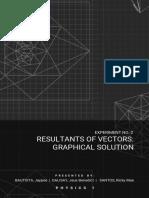 Physics sample vectors Experiment