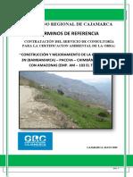 Tdr Crtificacion Ambiental Bambamarca Carretera Bambamarca-marañon