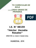 PCA  N° 88159 -  2er - 2019 CONUNIDADES