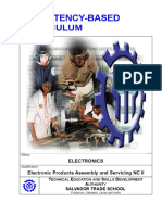CBC - Electronic Products Assembly and Servicing NC II
