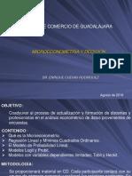 Curso de Microeconometría - I Parte