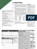 SaV Release Player Sheets