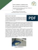 Glicolisis Anaerobica y Fermentacion