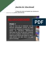 Instalación de Alucobond.docx