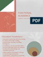 Functional Academics