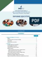 Informe Ejecutivo ENEDU 2018