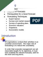 Demand Analysis and Forecast