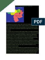 Procesos de Regeonalizacion de Venezuela