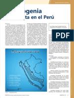 Metalogenia de La Plata en El Peru