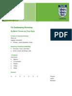 FA Goalkeeping Workshop-FA Learning