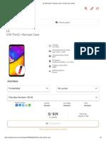 LG V35 ThinQ + Bumper Case _ Tienda Claro Online