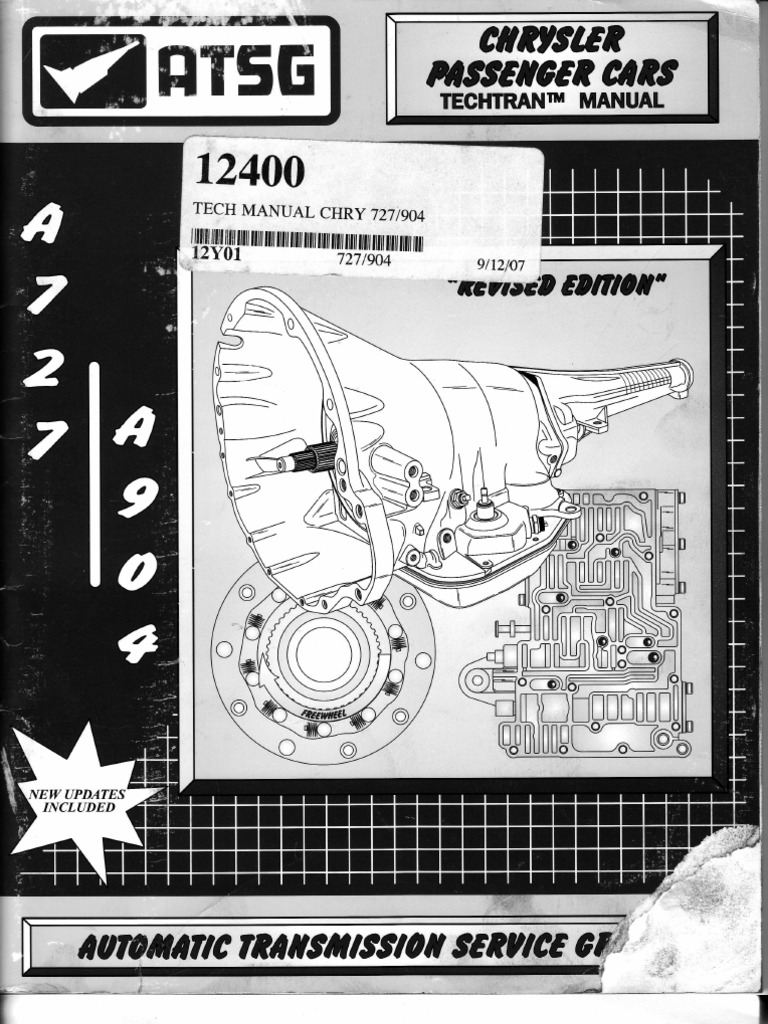 torqueflite a727 a904 automatic transmission manual transmission rh es scribd com HP Owner Manuals Parts Manual