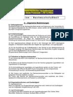 Richtlinien - Nachwuchsfussball