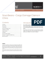 Soya Beans Cargo Damage Claims in China Feb 2018 LP Briefing