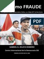 El Ultimo Fraude autor Gabriel G. Zelaya Romero.