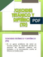 toxoide y difteria