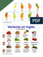 Verduras en Ingles y Español