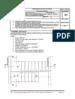 VT - Tecnologia Em Estruturas III - 2019-1