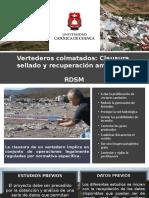 RESTAURACION ECOLOGICA-Vertederos Colmatados-
