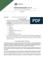 Planificación y Control de La Producción_consigna A_examen Final