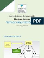 16. ESTILOS ARQUITECTÓNICOS