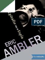 Epitafio para un espia - Eric Ambler.pdf