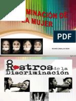 discriminación  de la mujer