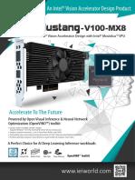 IEI Mustang V100 MX8 Datasheet