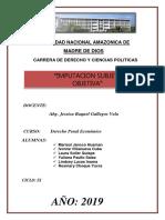 Monografia de Penal Economico