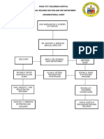 Pcch Organizational Chart