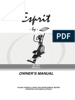 Spirit Esprit El-455 User Manual