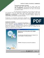 Cap16 - MySQL, PosgreSQL y DBManager