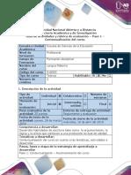Guía de Actividades y Rúbrica de Evaluación Paso 1 - Contextualización