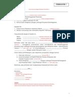 Formulir Administrasi Perizinan Lembaga Penyiaran Berlangganan
