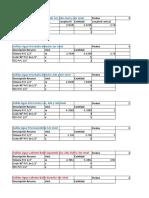 Analisis Precios Unitarios AGUA FRIA Y AGUA CALIENTE Ff