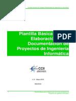 Plantilla de Documentacion Proyecto Informatica