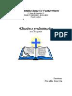 Elección o predestinación