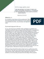 DPWH vs. Tecson
