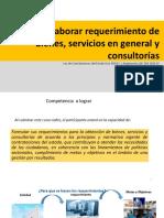 Requerimiento y Documentos de Procedimiento de Seleccion