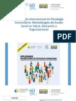 Diplomado Internacional en Psicología Comunitaria