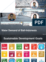 Water Demand of Indonesia